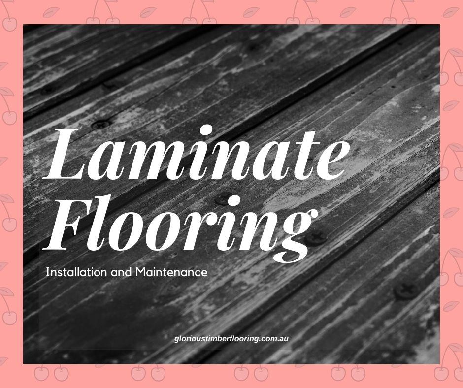 laminate flooring application